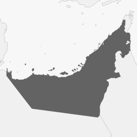 geo image of United Arab Emirates